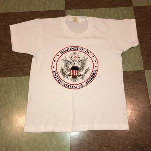 Screen stars USA washinton dc Graphic shirt md